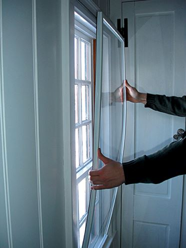 Window inserts affordably add comfort to your home schedule fred for Plexiglass interior storm windows