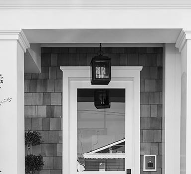 Front Portico Installation