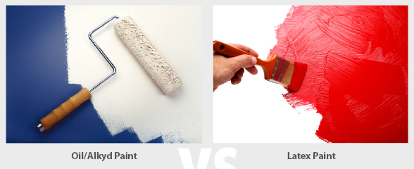 What Is The Difference Between Interior And Exterior Latex Paint: Difference-between-oil-paint-and-latex-paint